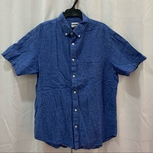 Old Navy Casual Button Down Shirt Blue